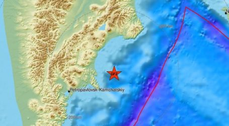 Σεισμός 5,9 Ρίχτερ στην ανατολική Ρωσία