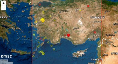Σεισμός 4,5 Ρίχτερ στη δυτική Τουρκία