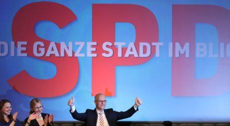 Νίκη του SPD στις εκλογές του Αμβούργου