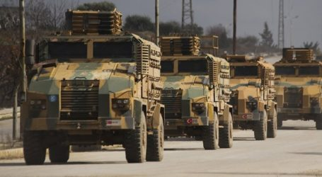Τουρκικό κονβόι τεθωρακισμένων εισήλθε στο Ιντλίμπ