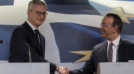 Γαλλική στήριξη στην ελληνική οικονομία