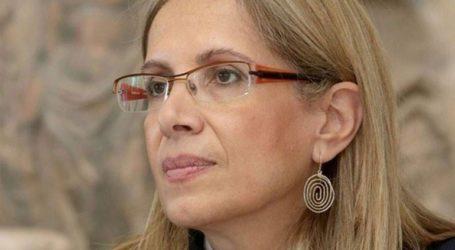 Η Αθηνά Χατζηπέτρου προέδρος και διευθύνουσα σύμβουλος της Ελληνικής Αναπτυξιακής Τράπεζας Α.Ε. (πρώην ΕΤΕΑΝ)