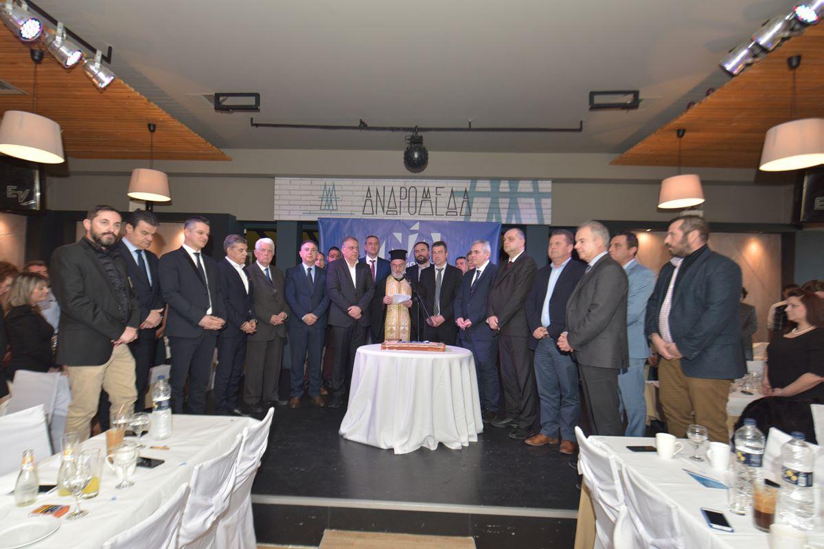 Κέλλας σε εκδήλωση της ΔΗΜΤΟ ΝΔ Τυρνάβου: Ισχυροί δήμοι, λύση με το τσίπουρο