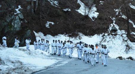 Στο Πήλιο το Winter Camp της Ακαδημίας Shinkyokushinkai