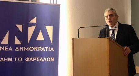 Χαρακόπουλος στην εκδήλωση της ΔΗΜ.ΤΟ ΝΔ Φαρσάλων: Η κυβέρνηση Μητσοτάκη σπάει αυγά και δεν υπολογίζει πολιτικό κόστος