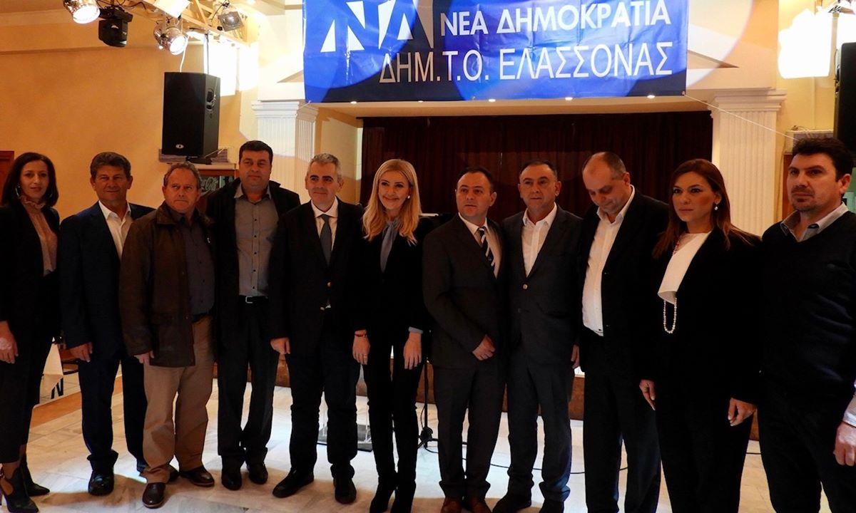 Χαρακόπουλος στην εκδήλωση ΔΗΜΤΟ ΝΔ Ελασσόνας: Πισώπλατη μαχαιριά στους κτηνοτρόφους οι ελληνοποιήσεις γάλακτος