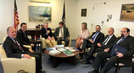 Με τους Βολιώτες βουλευτές και Γραμματείς συναντήθηκε ο Αμερικανός Πρέσβης – Τι συζήτησαν