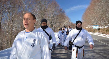 Με επιτυχία ολοκληρώθηκε το 7ο winter camp του Kyokushinkai karate στα Χάνια Πηλίου