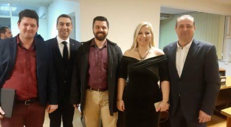 Τα μέλη του ΣΙΣΑΜ συναντήθηκαν με τον Υφυπουργό Υποδομών