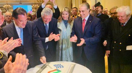 Στην Πρεσβεία του Κουβέιτ με τον Άδωνι η Ζέττα Μακρή