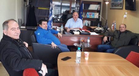 Με την Αεραθλητική ένωση Μαγνησίας συναντήθηκε ο Δημήτρης Νασίκας