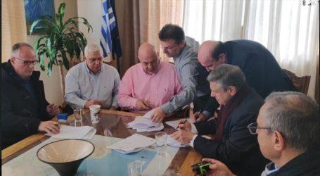 ΔΕΥΑΜΒ: 21 εκατομμύρια ευρώ σε έργα υπέγραψε σήμερα ο Αχιλλέας Μπέος [εικόνες]