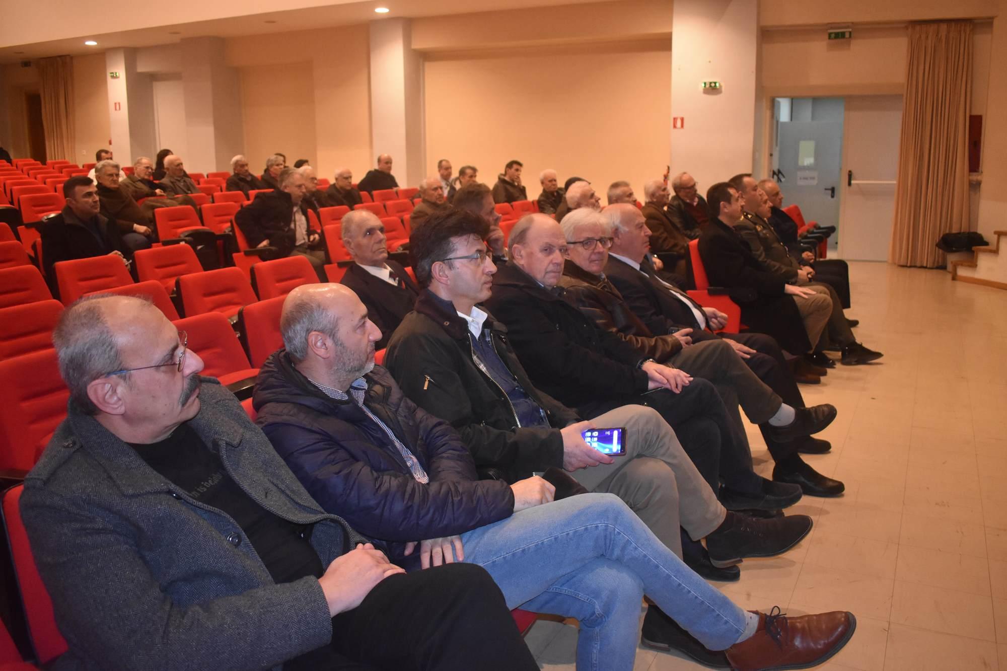 Ομιλία για «Το νομικό καθεστώς των νήσων του Αιγαίου» διοργανώθηκε στη Λάρισα (φωτο)