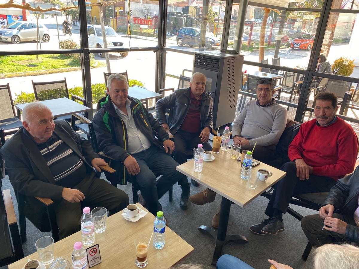 «Βασίλεψαν» οι συνταξιούχοι υπάλληλοι του δήμου Φαρσάλων