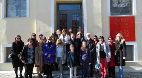 Με επιτυχία η ξενάγηση γονέωνστο «Μουσείο της Πόλης του Βόλου»