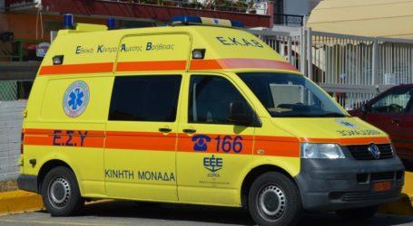 Τροχαίο ατύχημα στον Βόλο – Τραυματίστηκε 55χρονος