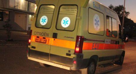 Λάρισα: Μετωπική σύγκρουση με εγκλωβισμούς και βαριά τραυματισμένο άτομο στον δρόμο για Αγιά