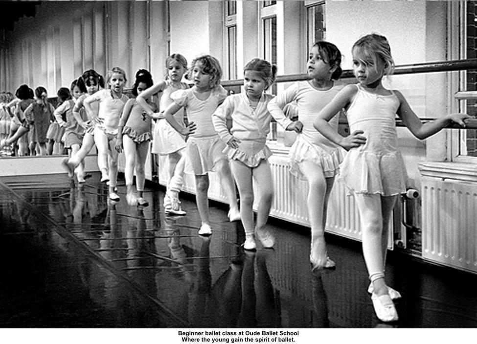 ballet class at oude school peter voerman