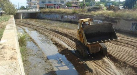 1 εκατομμύριο ευρώ για καθαρισμό ρεμάτων στη Μαγνησία