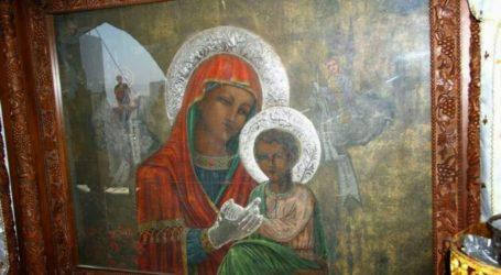Η Ιερά Εικόνα της Παναγίας της Τσαμπίκας από την Ρόδο στον Βόλο