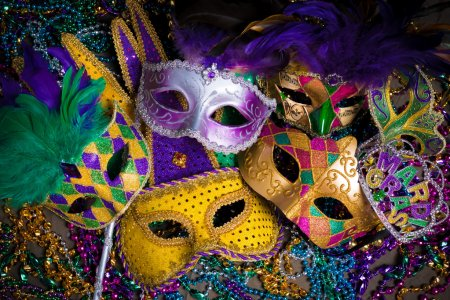 depositphotos 64487839 stock photo group of mardi gras mask