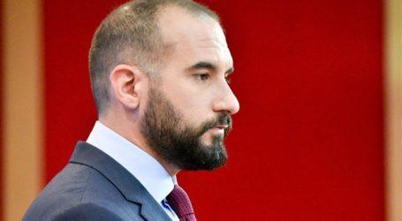 Ο Δημήτρης Τζανακόπουλος στην συνεστίαση του ΣΥΡΙΖΑ Μαγνησίας