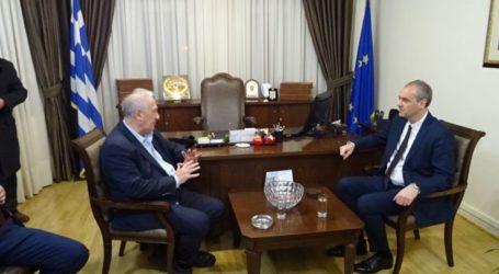 Επίσκεψη του Βουλευτή Κ. Σκανδαλίδη στην Ελασσόνα