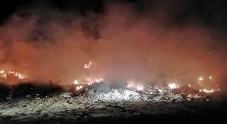 Φωτιά στη Σκόπελο από κάρβουνα σε στάχτες