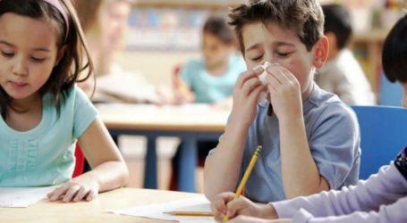 Η Ένωση Γονέων και Κηδεμόνων του Δήμου Λάρισας για τη γρίπη στα σχολεία