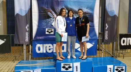 Χρυσό για τη κολύμβηση της Νίκης Βόλου στους αγώνες open Ανδρών – Γυναικών