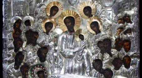 Στην ενορία της Αγίας Παρασκευής η Ιερά Εικόνα της Παναγίας Άνω Ξενιάς