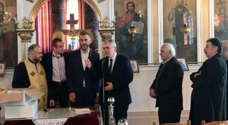 Χαρακόπουλος στην Αμυγδαλέα: Η βασιλόπιτα σύμβολο της βυζαντινής μας κληρονομιάς