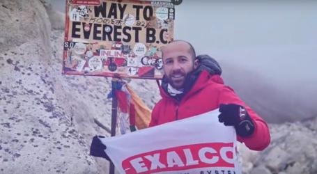 Λαρισαίος σε κορυφή των Ιμαλαΐων μαζί με την Exalco (βίντεο)