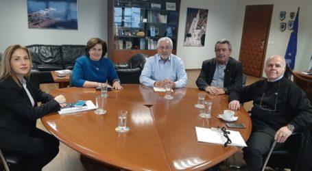 Συνάντηση εργασίας του Συντονιστή Αποκεντρωμένης Διοίκησης Θεσσαλίας με τους Γενικούς Γραμματείς του Υπουργείου Ναυτιλίας