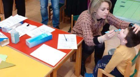 Πρόγραμμα οδοντιατρικής πρόληψης στους παιδικούς σταθμούς του δήμου Λαρισαίων