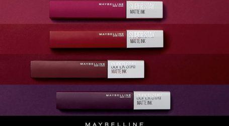 Δοκίμασε τα ματ κραγιόν της Maybelline στα Καλλυντικά Οντόπουλος