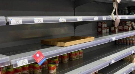 Κορωνοϊός: Ανάρπαστα αλεύρι, φασόλια και… κονσέρβες στα σούπερ μάρκετ της Λάρισας!