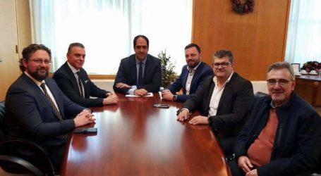 Επιμελητηριακός Όμιλος Ανάπτυξης Ελληνικών Νησιών: Επίσκεψη στον Υφυπουργό Υποδομών