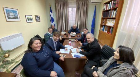 Δήμος Τεμπών: Σύμβαση για το έργο Τηλεμετρία
