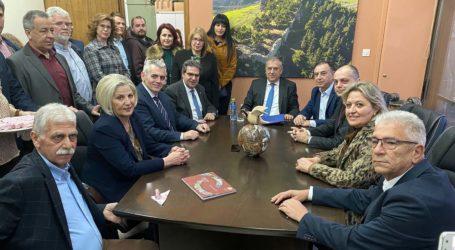 Για λύση στο υδρευτικό των Φαρσάλων εντός τετραετίας δεσμεύτηκε ο Υπουργός Εσωτερικών