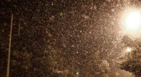 ΤΩΡΑ: Χιονίζει στο Πήλιο [απευθείας σύνδεση]