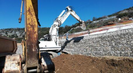 Συνεχίζονται οι εργασίες αποκατάστασης του οδικού δικτύου στην Κερασιά [εικόνες]