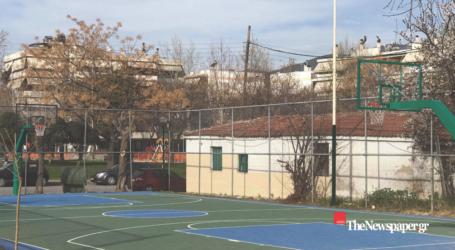 «Κόσμημα» για τον Βόλο το νέο γήπεδο μπάσκετ στους Αγ. Αναργύρους [εικόνες]