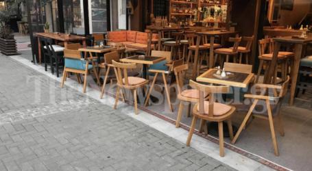 Γύρισαν την πλάτη στις καφετέριες οι Βολιώτες την ώρα της απαγόρευσης – Δείτε εικόνες