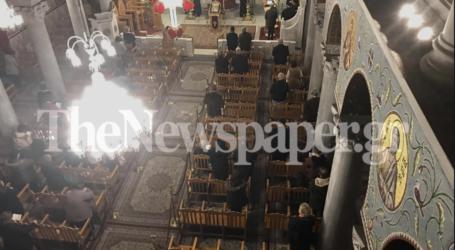 Πήγαν στην εκκλησία οι Βολιώτες παρά τον φόβο για τον κορωνοϊό [εικόνες]