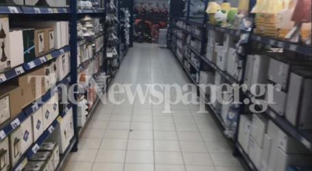 Βόλος: Με το «τουφέκι» έψαχναν τους πελάτες στα πολυκαταστήματα [εικόνες]