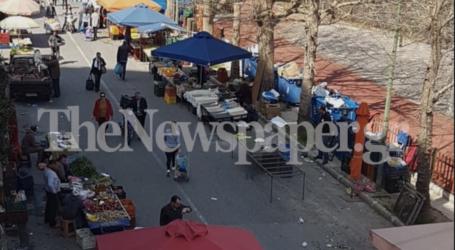 Με… προσοχή για ψώνια στη λαϊκή αγορά οι Βολιώτες με τον φόβο του κορωνοϊού [εικόνες]