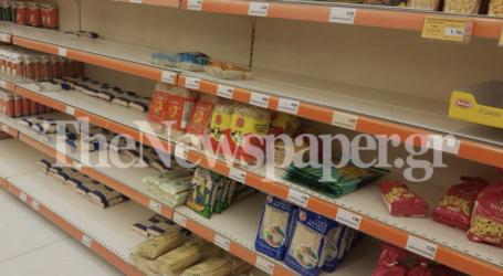 Κορωνοϊός: Τι ψωνίζουν από τα σούπερ μάρκετ οι Βολιώτες – Ποια ράφια αδειάζουν συνεχώς [εικόνες]