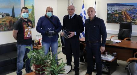 48 ασπίδες πολλαπλών χρήσεων στους αστυνομικούς του Βόλου από το Πανεπιστήμιο Θεσσαλίας