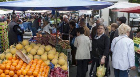 Απ. Τσακανίκας: Να στηριχθούν οι παραγωγοί λαϊκών αγορών